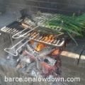 Cooking Calçots in Barcelona - Traditional Catalan Barbecue