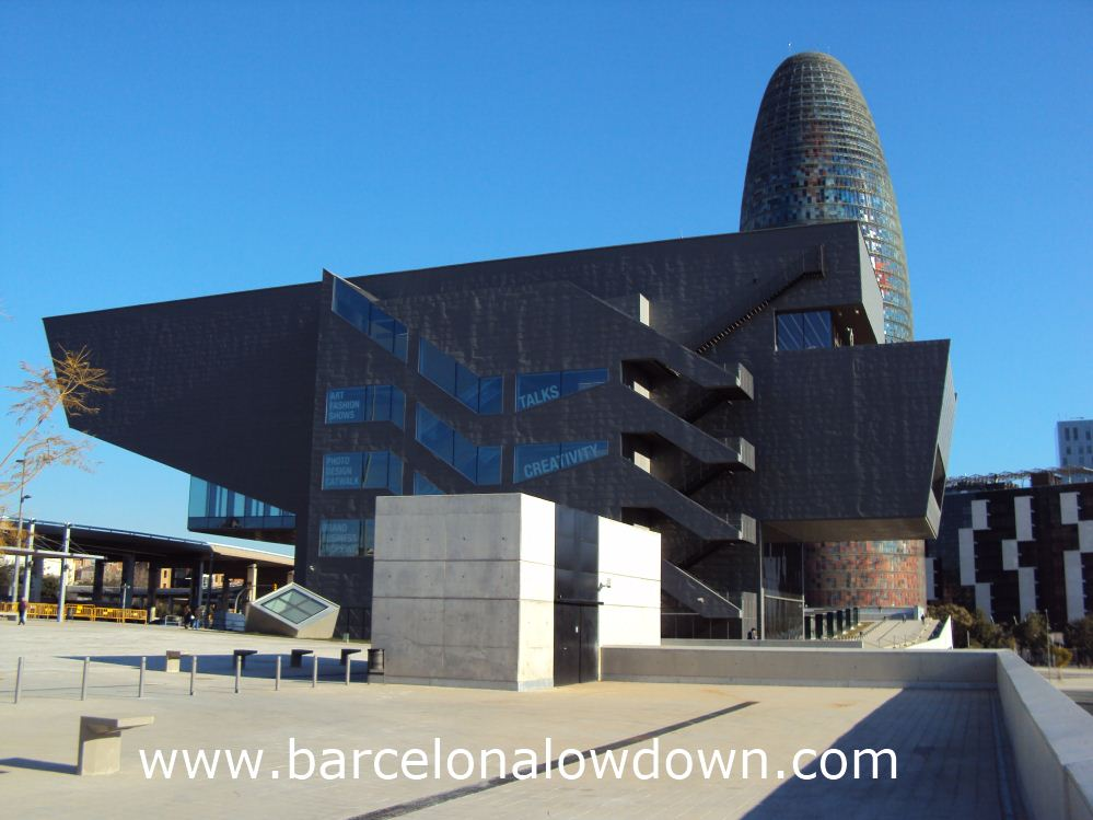 "Vector Prime or Another view of the stunning new ""disseny hub"" Barcelona ?"