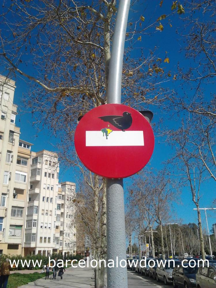 Bird, Street Art in Poble Nou