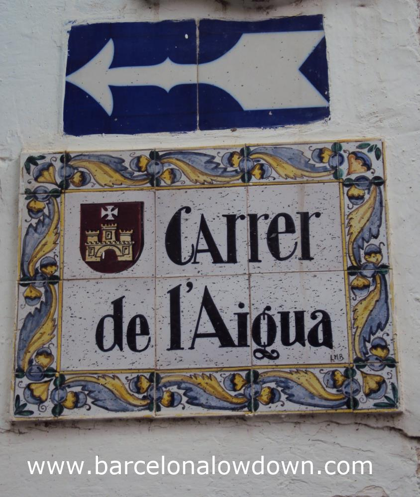 A Street Sign in the Old Town