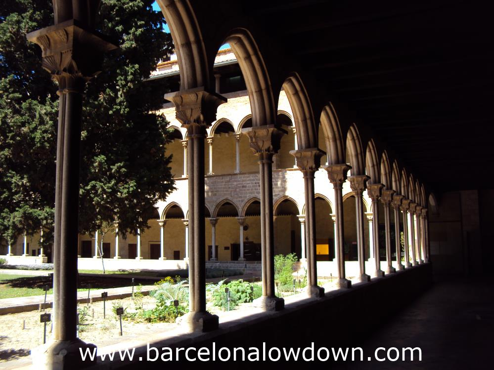 The Cloisters and Gardens of the Pedralbes Monastery