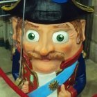 Capgros of an 18th Century French Captain