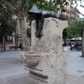 "The ""Font de la Granota"" Art Nouveau Fountain, Barcelona"