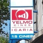 Sign Outside The Yelmo Icaria 15 screen English or Original Language Cinema