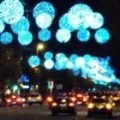 Sparkling Christmas lights Barcelona