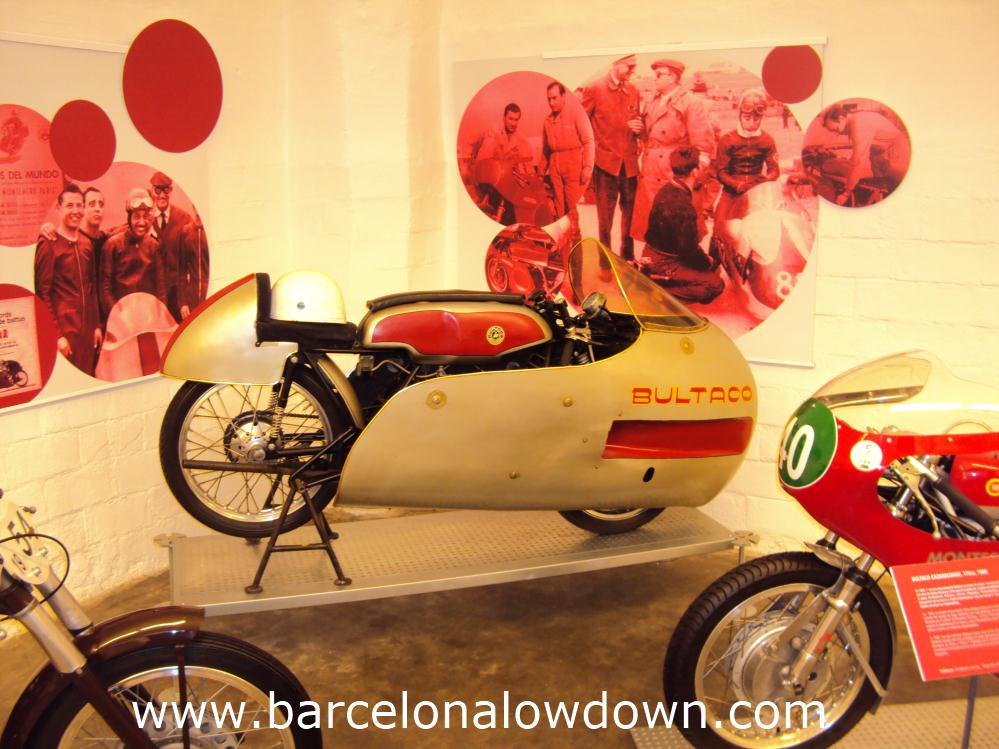 Bultaco race bike