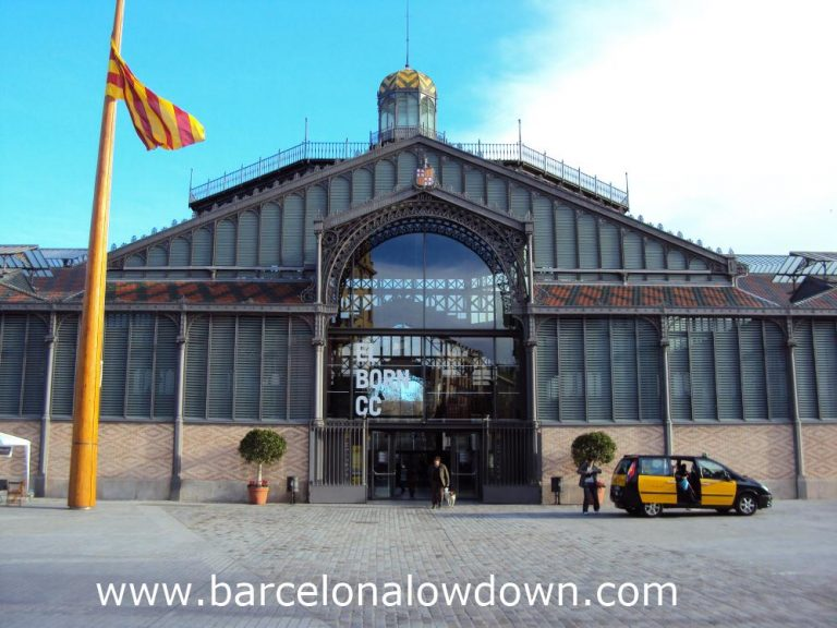 The Mercat del Born which now houses The Born Cultural Centre