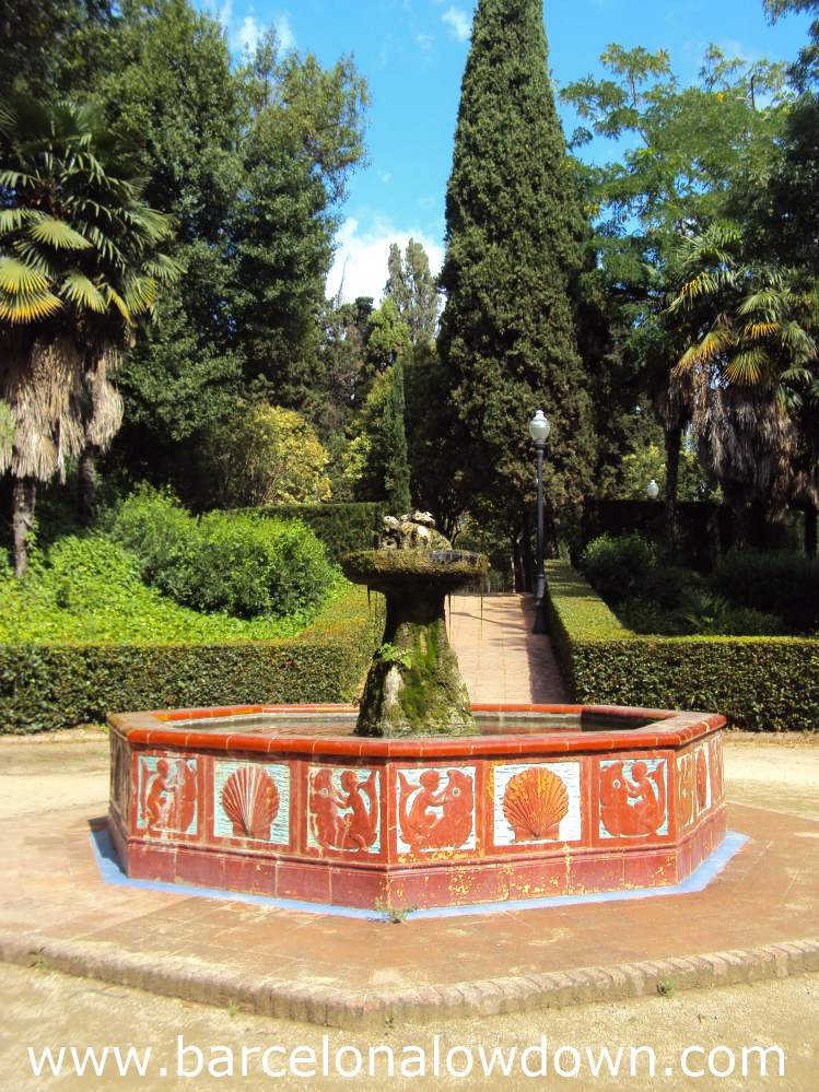 Andalusian style fountain