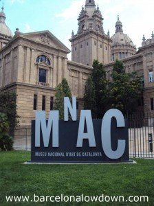 The MNAC Museum Barcelona
