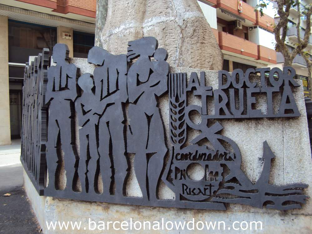 Monument to Doctor Trueta, Barcelona