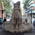 The Doctor Trueta Monument on the Rambla de Poblenou