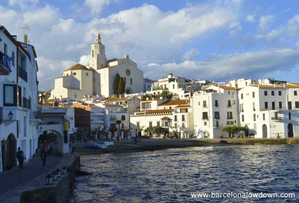 The church of Santa Maria in Cadaqués Spain