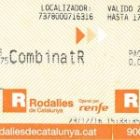 A free train ticket - Spain