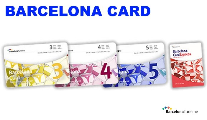 Barcelona Card - 2, 3, 4 and 5 day discount card