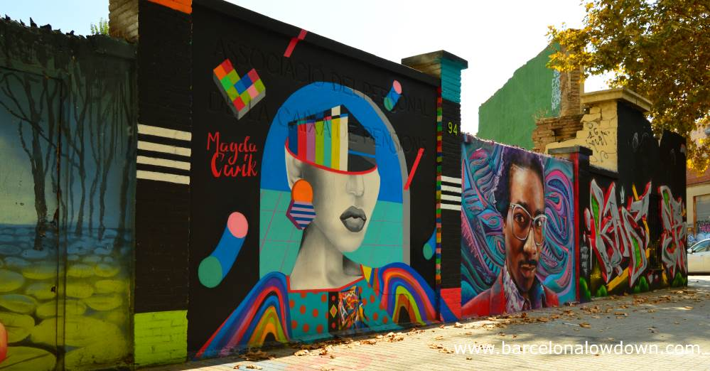 Discover The Awesome Graffiti And Street Art Of Poblenou Barcelona