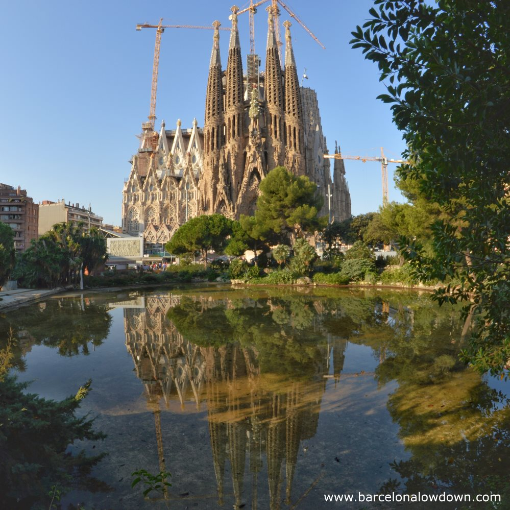 Photo of the Sagrada Familia - One of the best spots for instagram photographs in Barcelona