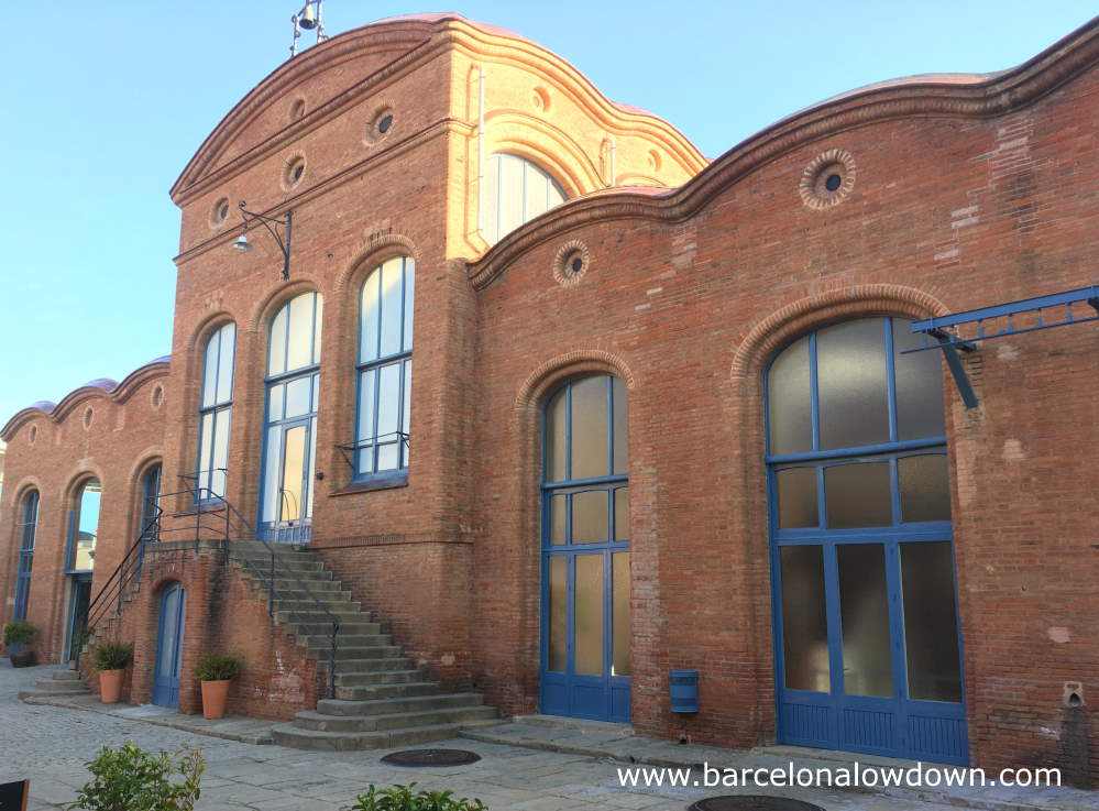 Art nouveau factory, now home to the National Museum of Science and Technology of Catalonia