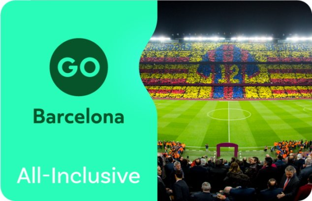 Go Barcelona sightseeing pass